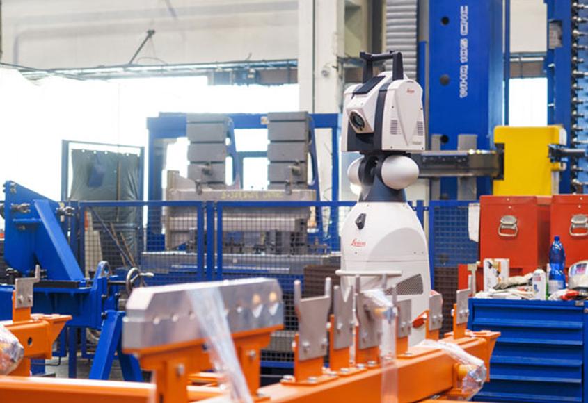 3D laserové meracie zariadenie LEICA AT 901