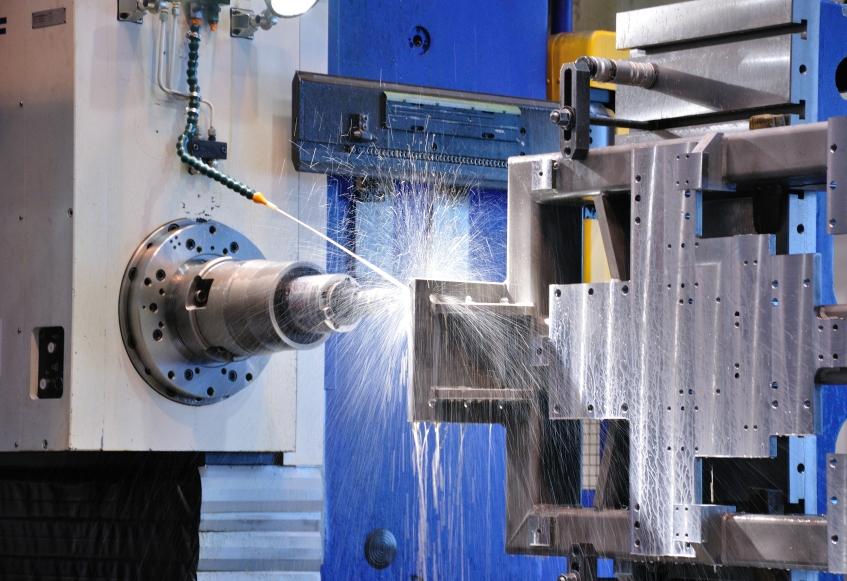 Vodorovný frézovací a vyvrtávací stroj WHQ 130 CNC