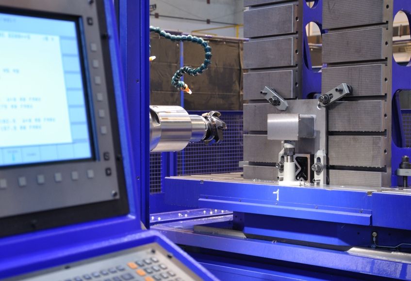 Vodorovný frézovací a vyvrtávací stroj WHQ 105 CNC
